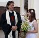 Svatba Petr Klápště a Eva Burianová