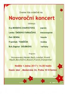 Novoroční koncert 2017