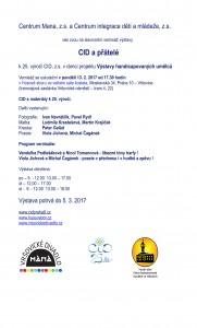 pozvánka CID